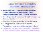 drugs for upper respiratory infections decongestants11