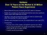 seldane over 10 years on the market 24 million patient years experience