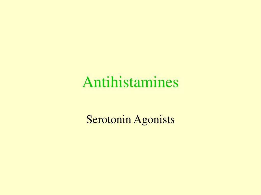 antihistamines l.