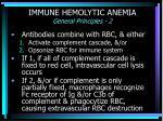 immune hemolytic anemia general principles 2