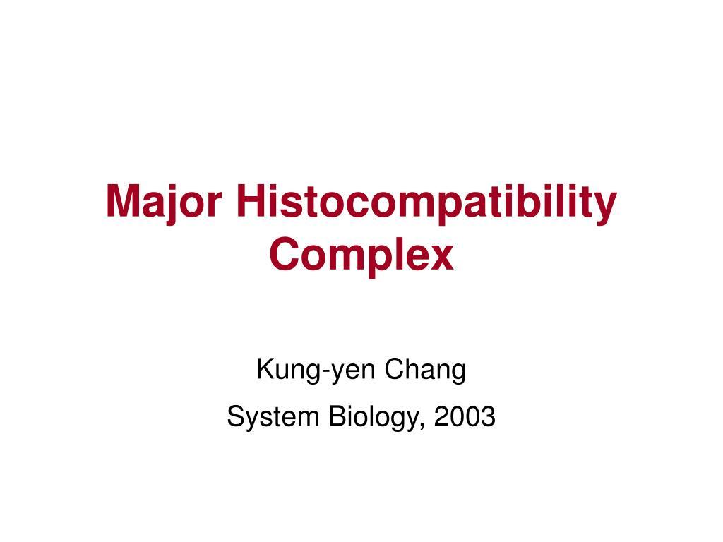 major histocompatibility complex l.