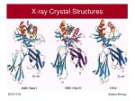 x ray crystal structures