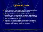 option b cons36
