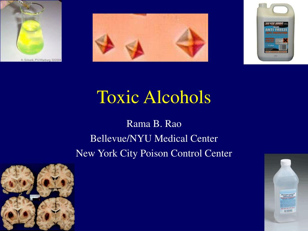 toxic alcohols l.