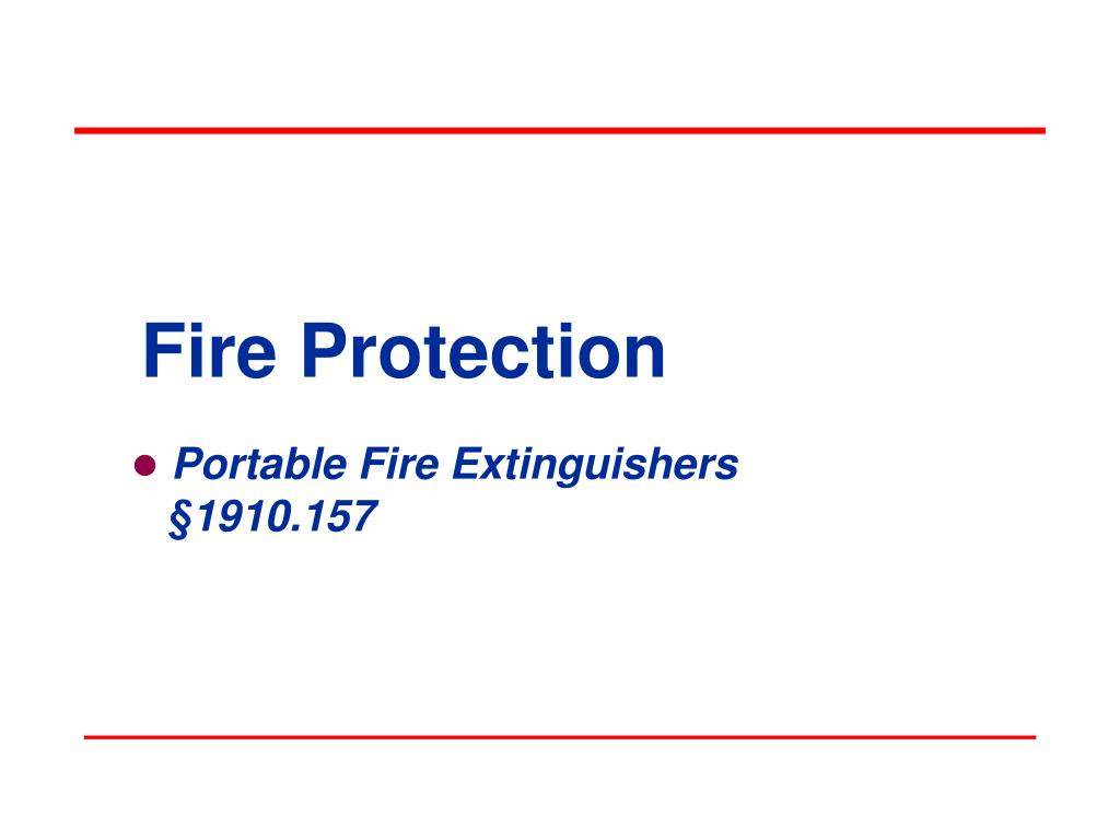 fire protection l.