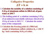 colligative properties d t k m