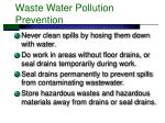 waste water pollution prevention40