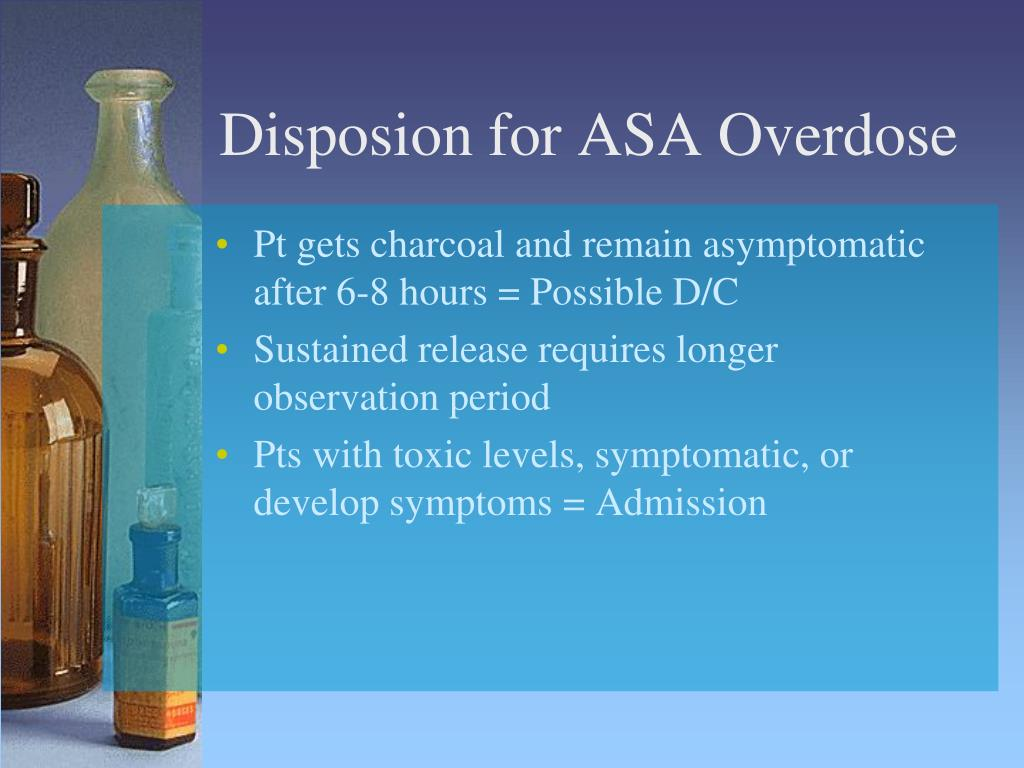 Disposion for ASA Overdose