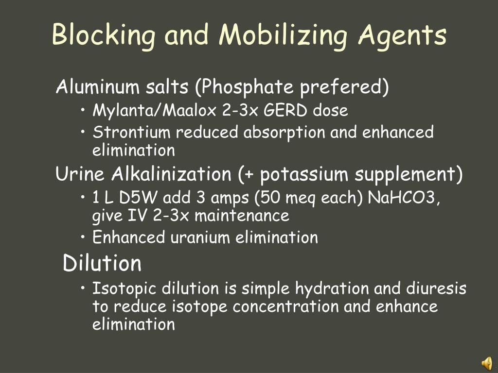 Blocking and Mobilizing Agents
