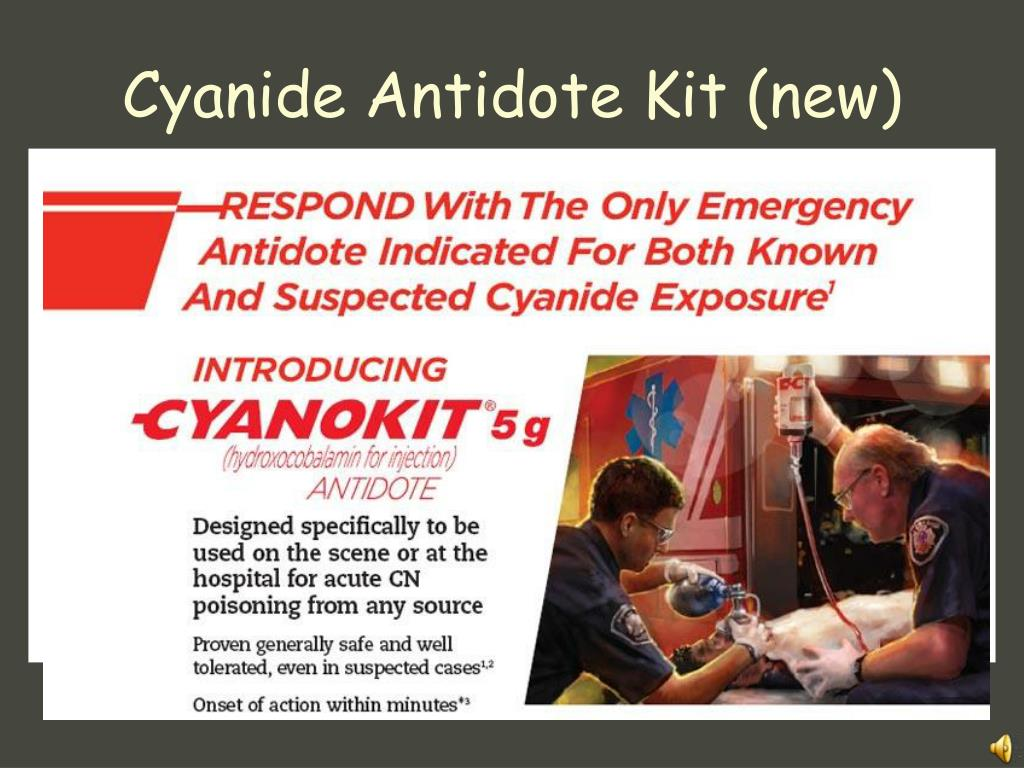 Cyanide Antidote Kit (new)