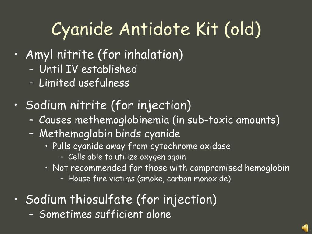 Cyanide Antidote Kit (old)