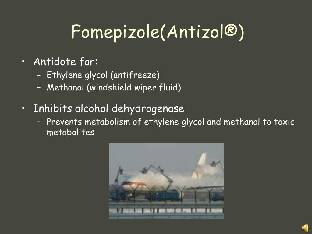 Fomepizole(Antizol®)
