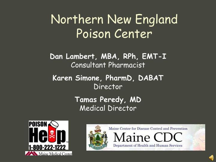 Dan Lambert, MBA, RPh, EMT-I