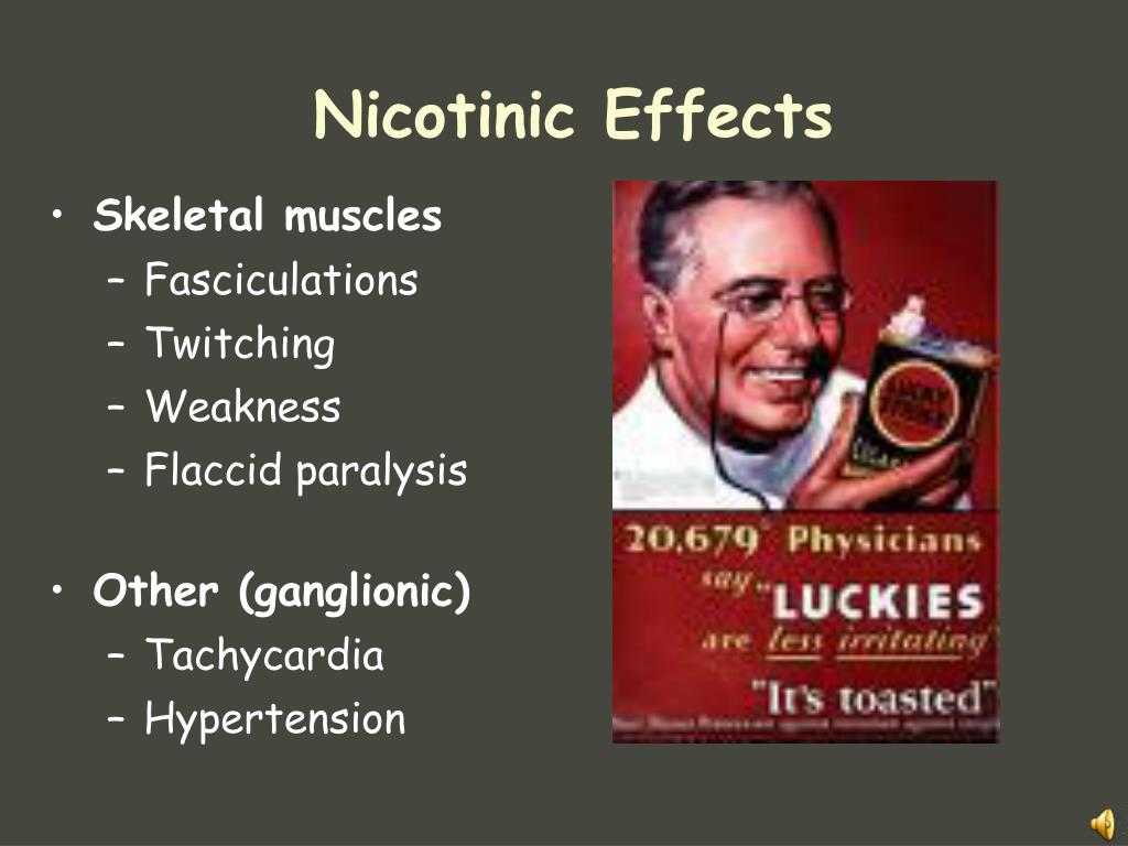 Nicotinic Effects