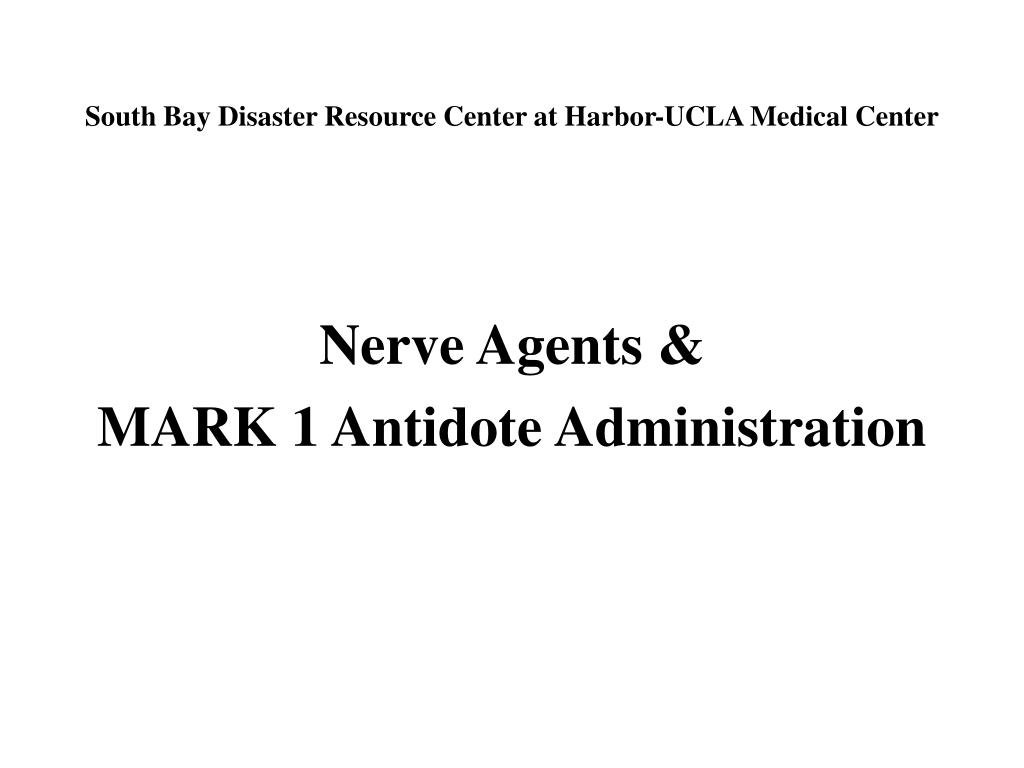 south bay disaster resource center at harbor ucla medical center l.