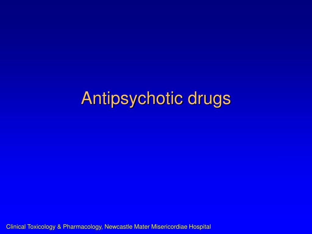 antipsychotic drugs l.