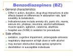 benzodiazepines bz