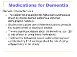 medications for dementia64
