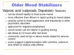 older mood stabilizers33