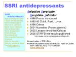 ssri antidepressants