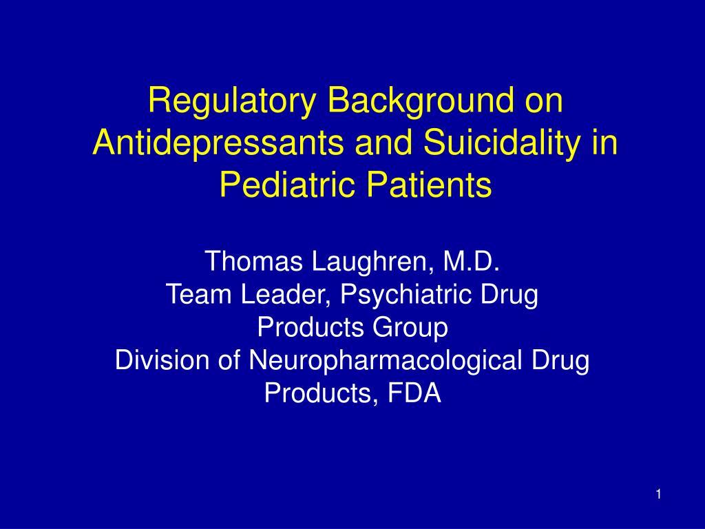 Regulatory Background on