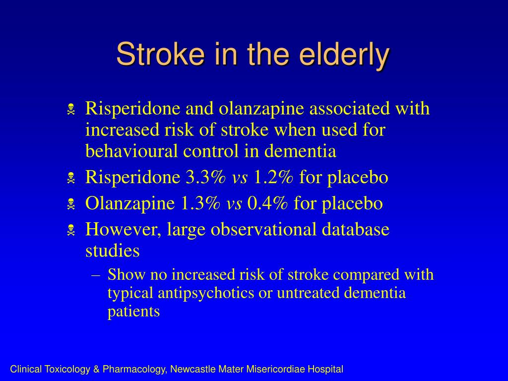 Stroke in the elderly