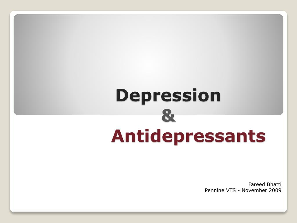 anti depressants and their link to adolescent Now to concerns about the prescription of anti-depressants to adolescents with the american food and drug administration considering whether tighter restrictions should be placed on their use after.