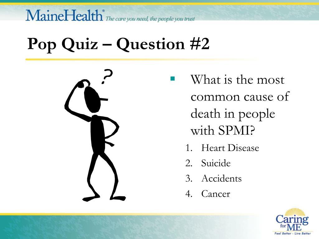 Pop Quiz – Question #2