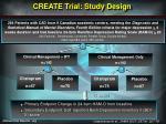 create trial study design
