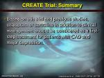 create trial summary11