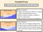 occluded front10