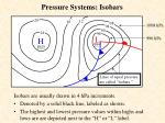 pressure systems isobars