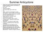 summer anticyclone