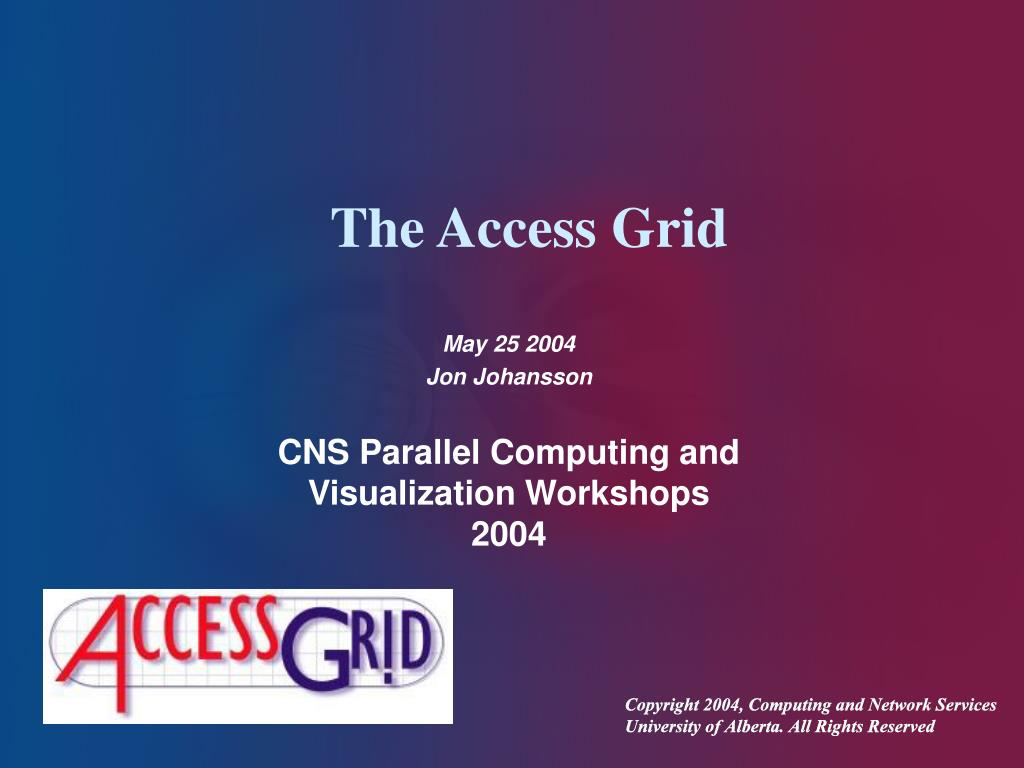 the access grid l.