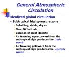 general atmospheric circulation20