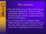 plot analysis