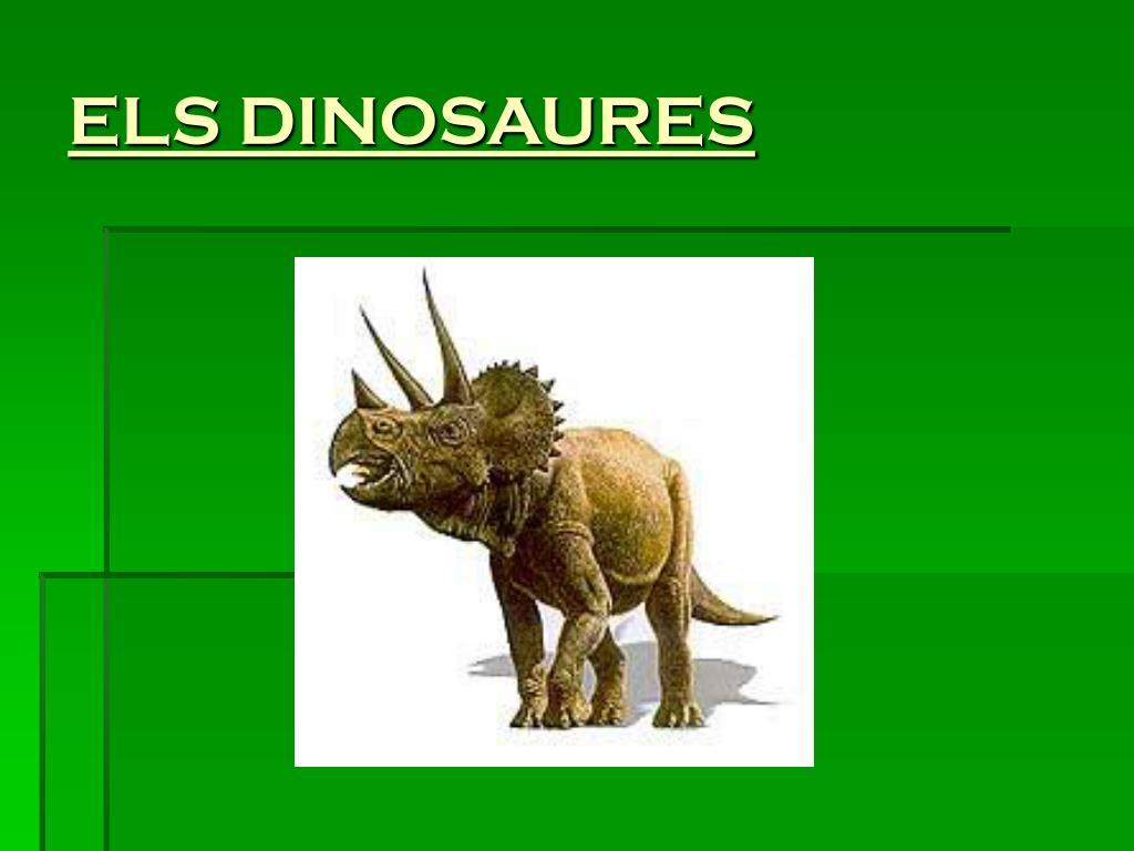 els dinosaures l.