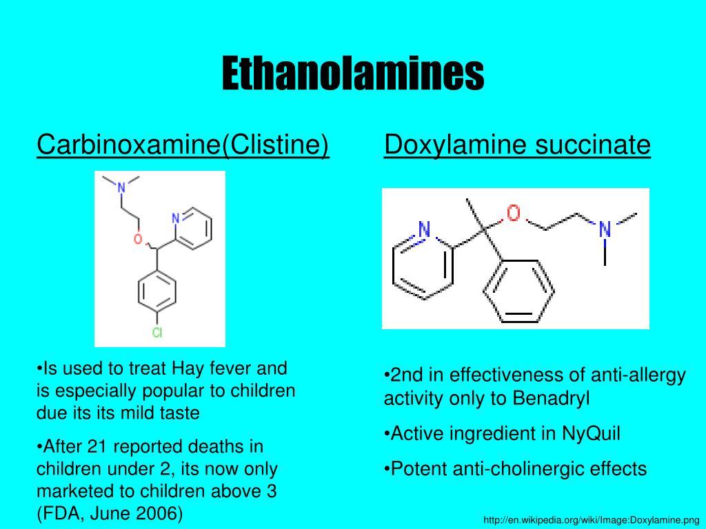 Carbinoxamine(Clistine)