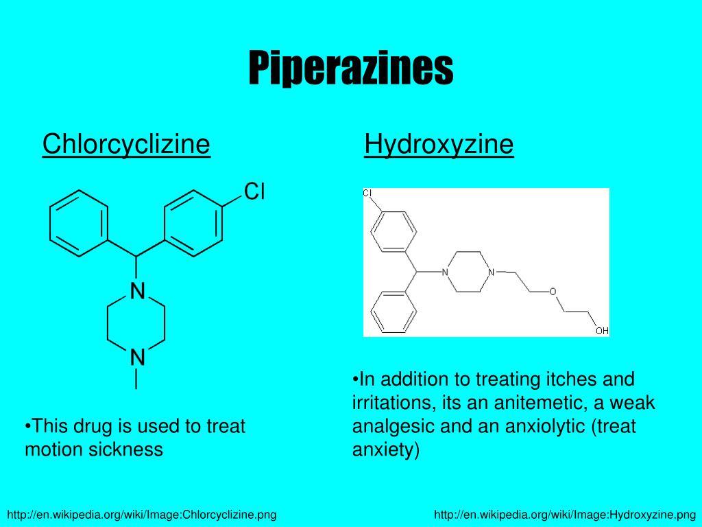 Chlorcyclizine