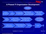 a phased ti organization development