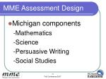 mme assessment design13