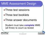 mme assessment design14
