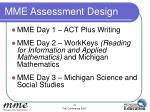 mme assessment design29