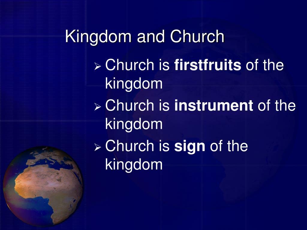 Kingdom and Church