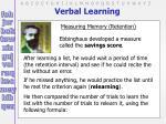 verbal learning18
