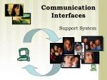 communication interfaces