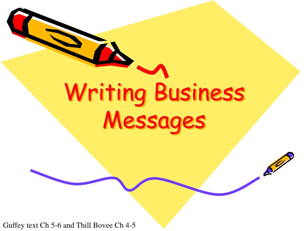 writing business messages l.
