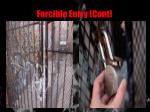 forcible entry cont18