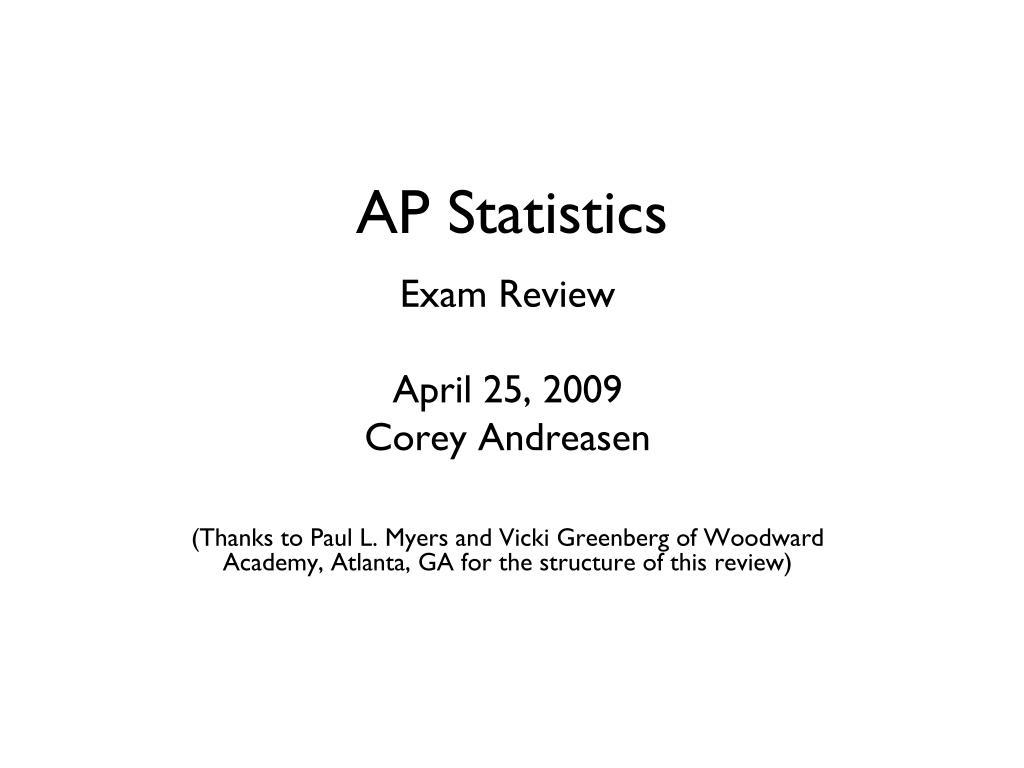 ap statistics l.