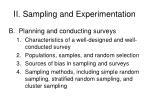 ii sampling and experimentation35